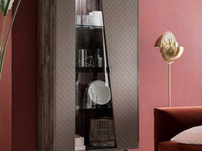 ALF ITALIA itališi svetainės ir valgomojo baldai Frida indauja