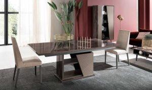 ALF ITALIA itališi svetainės ir valgomojo baldai Frida stalas ir kėdė (1)