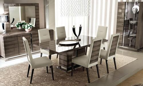 ALF ITALIA itališki svetainės ir valgomojo baldai Monaco (9)