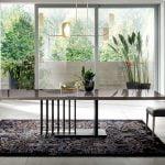 ALF ITALIA itališki svetainės ir valgomojo baldai Olimpia stalas ir kėdė (2)