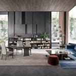 Alf Italia italiski baldai Athena valgomojo stalas (3)