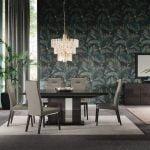 Alf Italia itališki svetainės ir valgomojo baldai Heritage stalas ir kėdė (2)