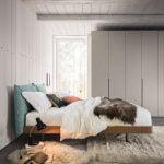 Alf da fre italiski miegamojo baldai lova Cloud (1)