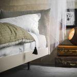 Alf da fre italiski miegamojo baldai lova Cloud (2)