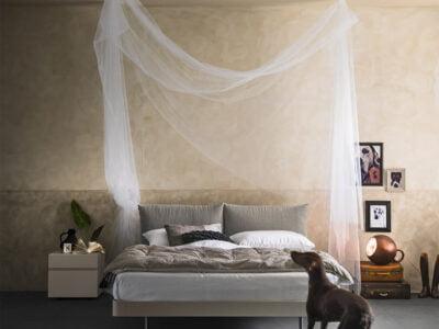 Alf da fre italiski miegamojo baldai lova Cloud (3)