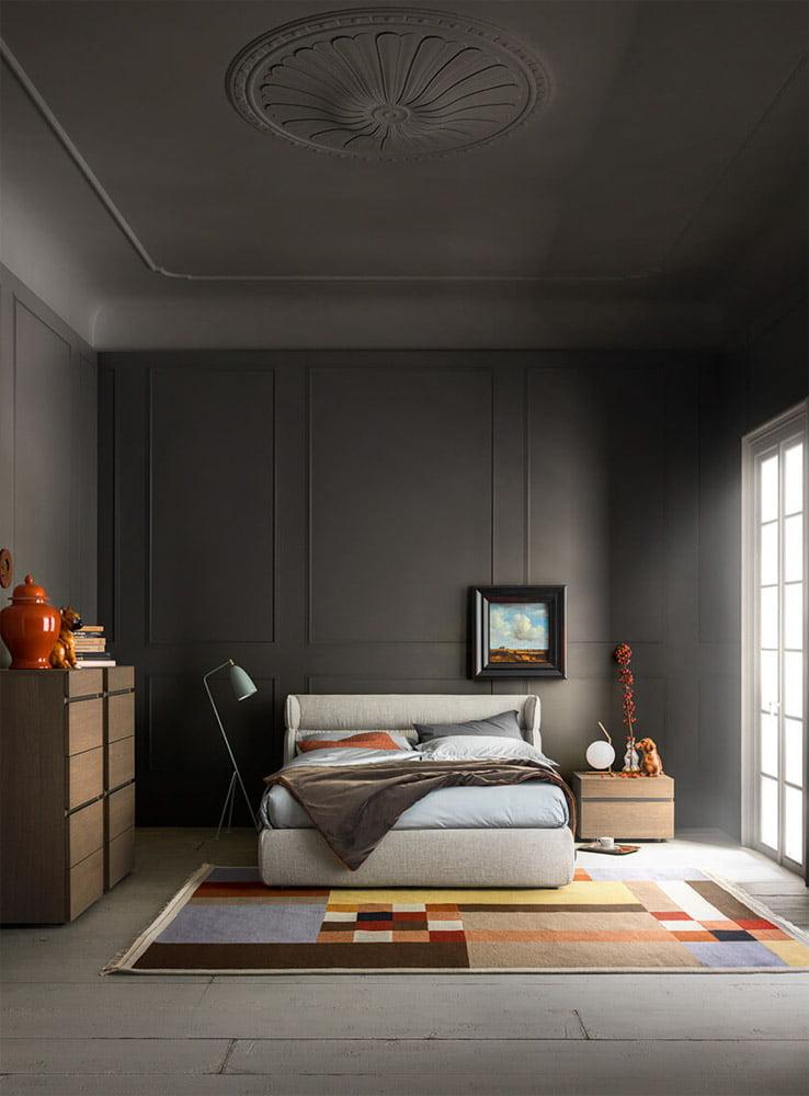 Alf da fre italiski miegamojo baldai lova Oregon (2)