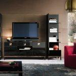 Alf italia Italiski svetaines baldai Mont Noir Tv spintele (1)-2