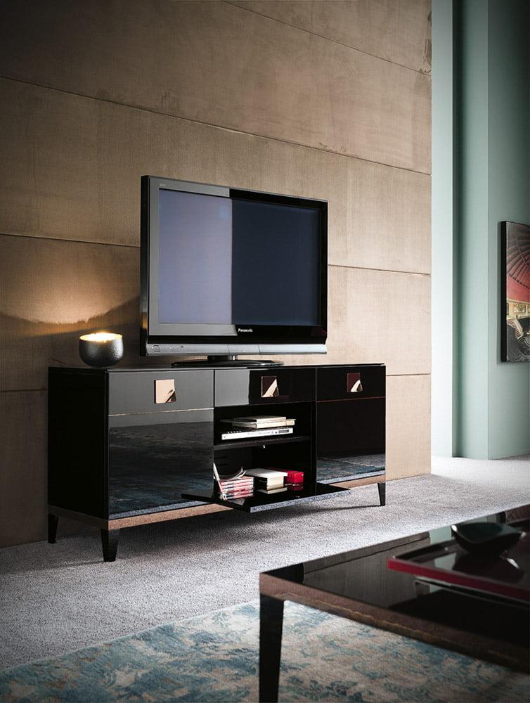 Alf italia Italiski svetaines baldai Mont Noir Tv spintele (3)