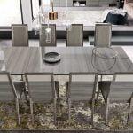 Alf italia itališki svetainės ir valgomojo baldai Iris stalas ir kėdės (2)