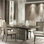 Alf italia itališki svetainės ir valgomojo baldai Tivoli kėdė ir stalas