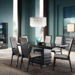 Alf italia itališki svetainės ir valgomojo baldai Versilia kėdės ir stalas (3)