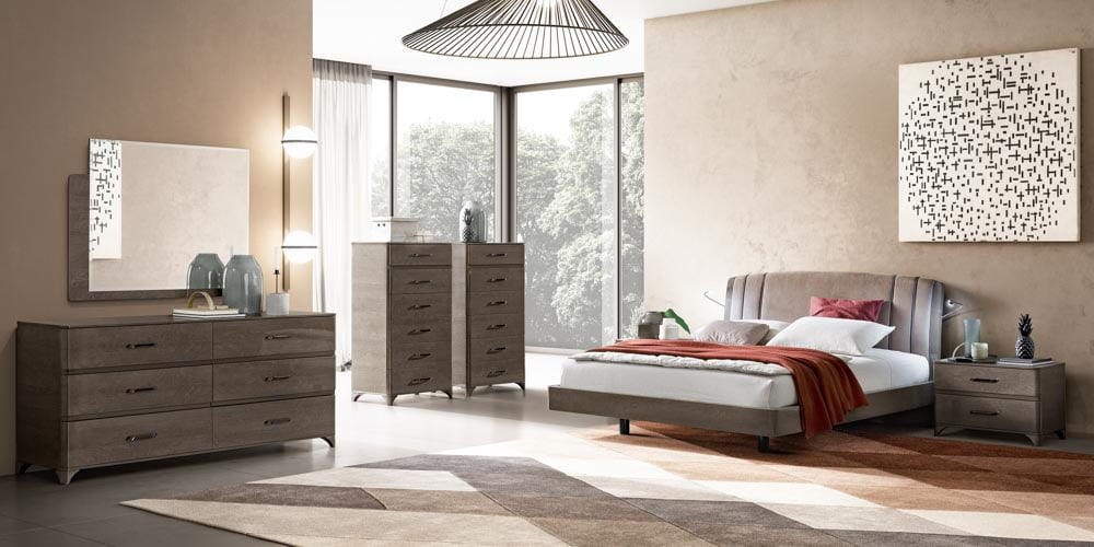 miegamojo baldai lova trendy