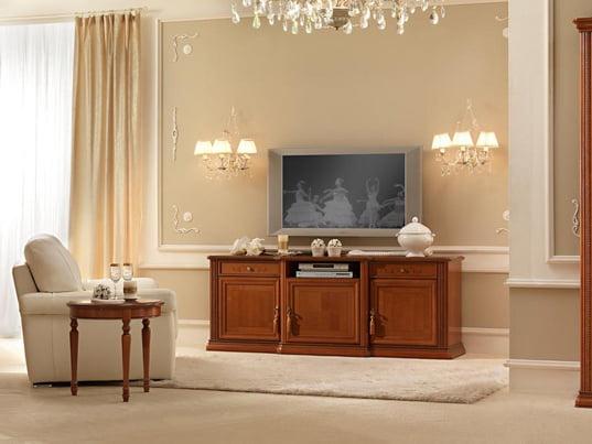 Camelgroup itališki klasikiniai baldai Siena Cherry tv staliukas 3