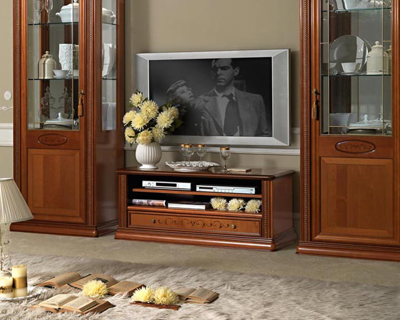 Camelgroup itališki klasikiniai baldai Siena Cherry tv staliukas