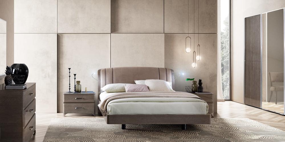 Camelgroup itališki miegamojo baldai Maia Platinum (13)