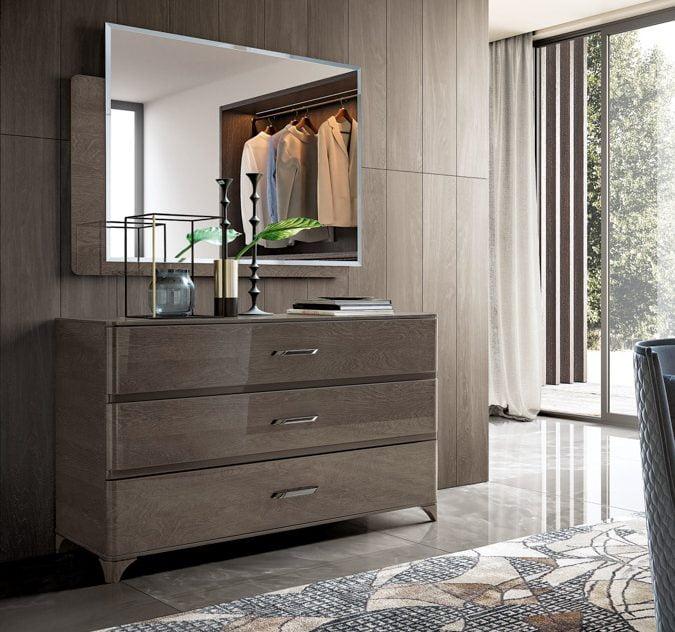 Camelgroup itališki miegamojo baldai Maia Platinum (3)