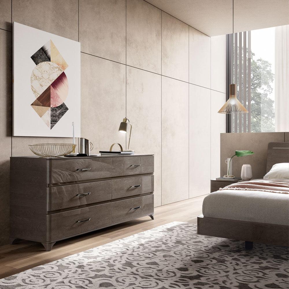 Camelgroup itališki miegamojo baldai Maia Platinum (8)