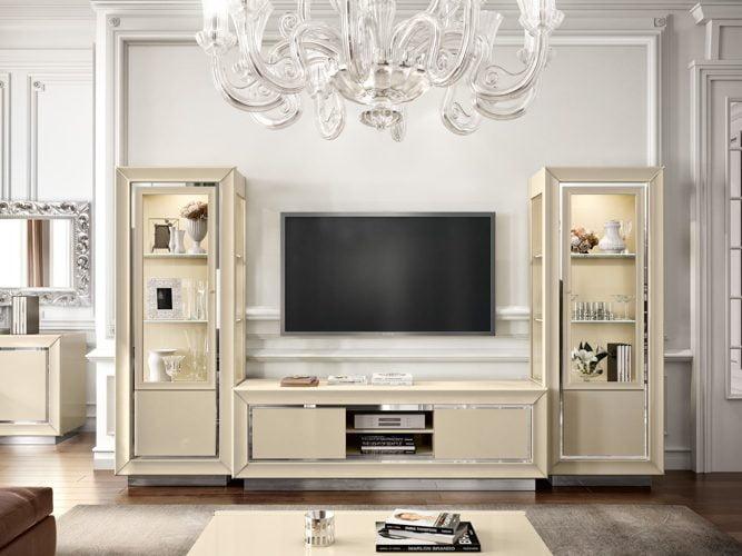Camelgroup itališki svetainės baldai La Star Day tv staliukas ir indauja (1)