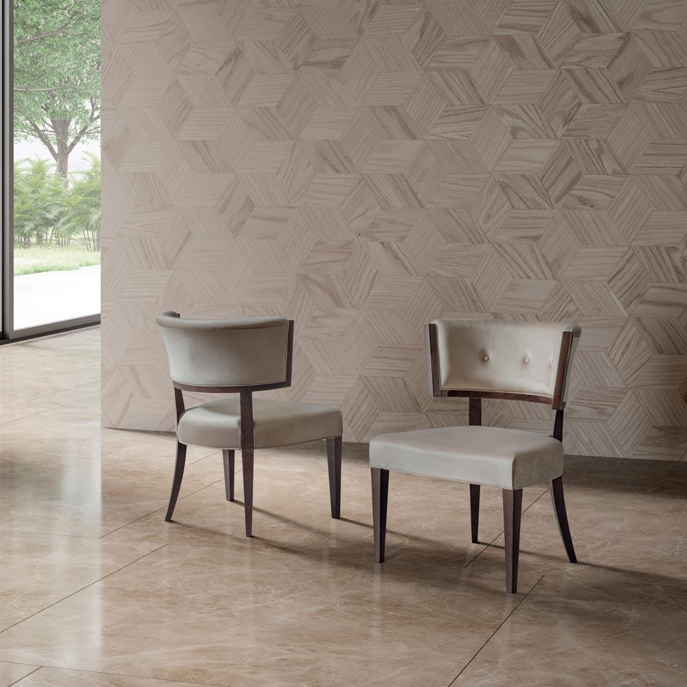 Camelgroup itališki svetainės ir valgomojo baldai Elite Day Noce kėdė (1)