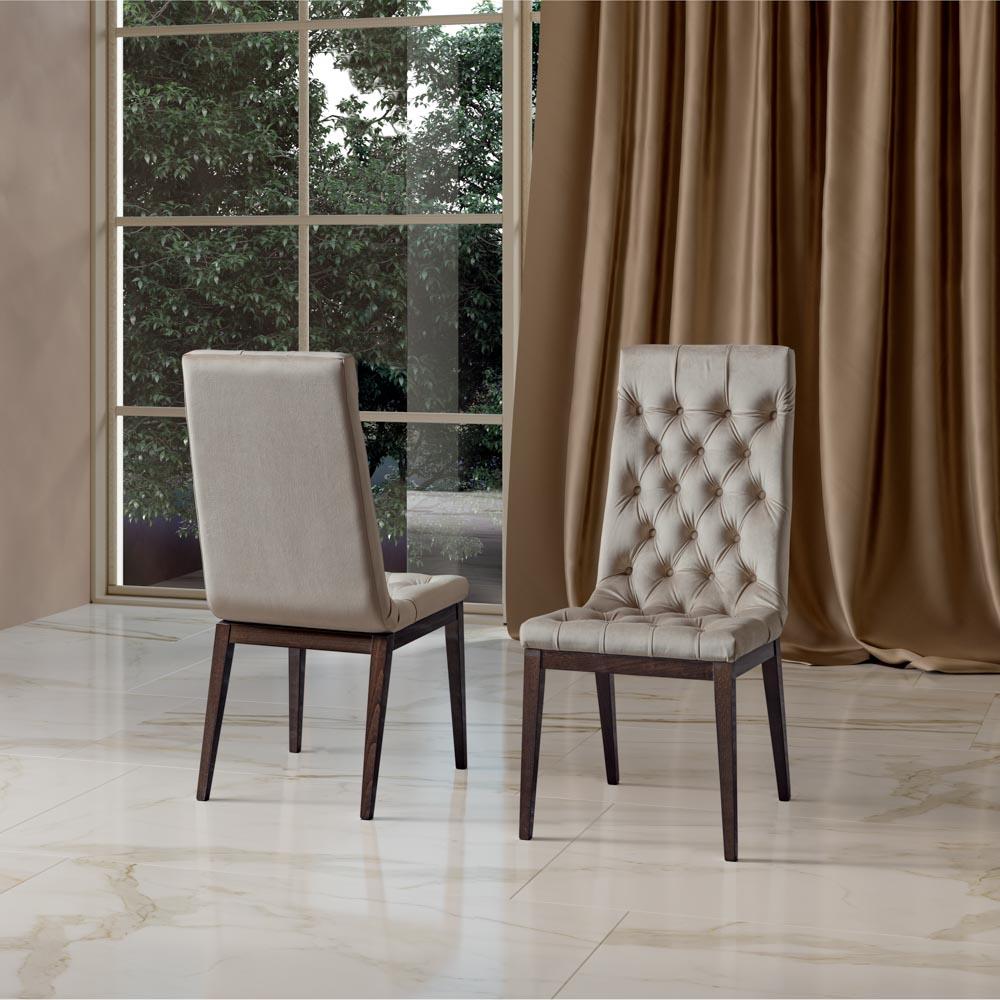 Camelgroup itališki svetainės ir valgomojo baldai Elite Day Noce kėdė (2)