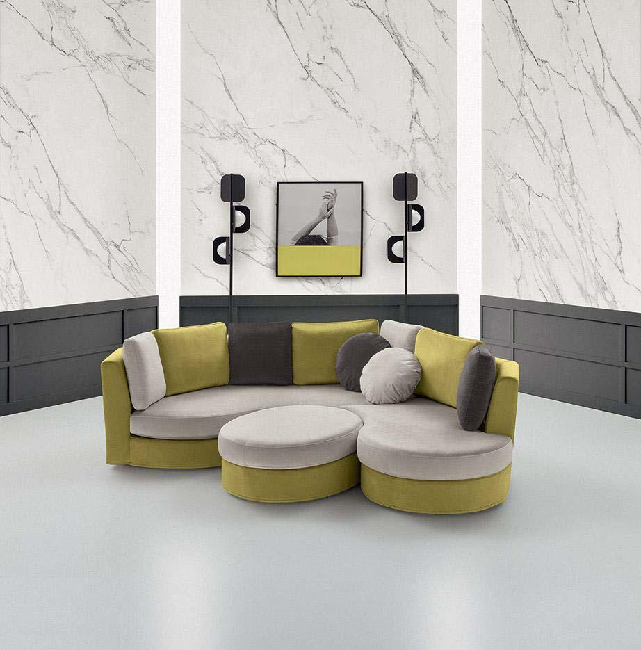 Felis italiski minksti baldai BOLERO sofa
