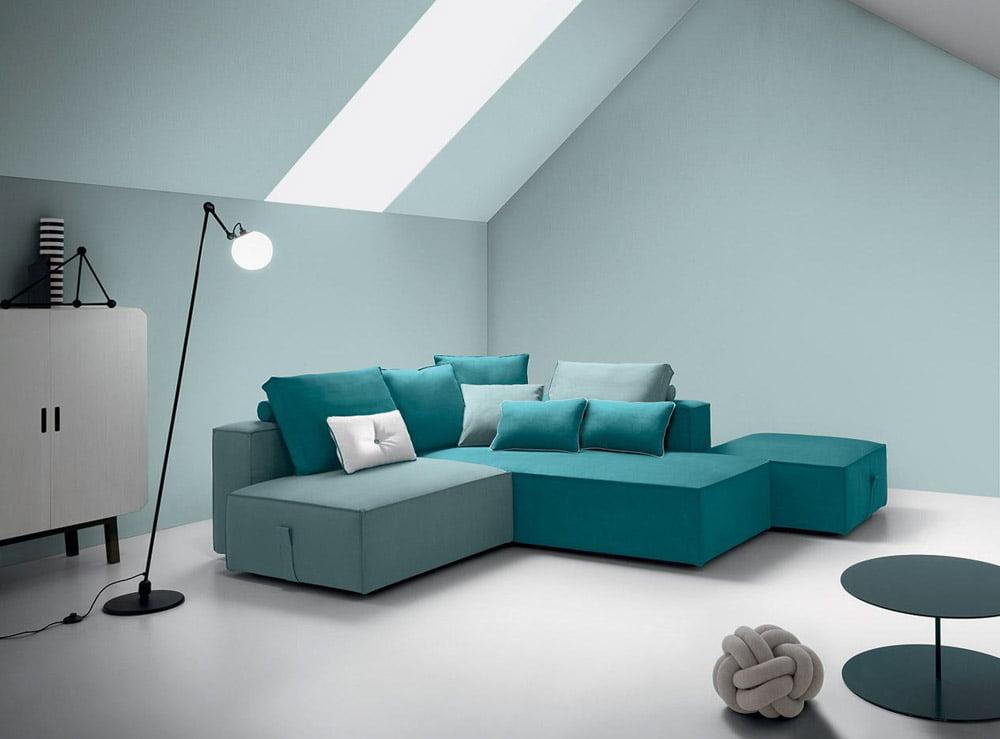 Italiski Felis minksti baldai BUBBLE sofa (4)