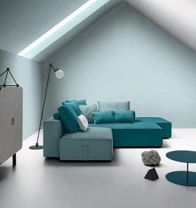 Italiski Felis minksti baldai BUBBLE sofa (7)
