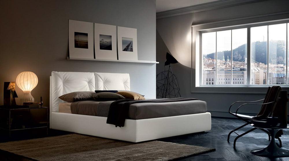 Italiski miegamojo baldai lova edgar