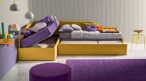 Italiski miegamojo baldai lova erik 5