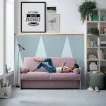 Itališki minkšti baldai Sofa lova Blair 10