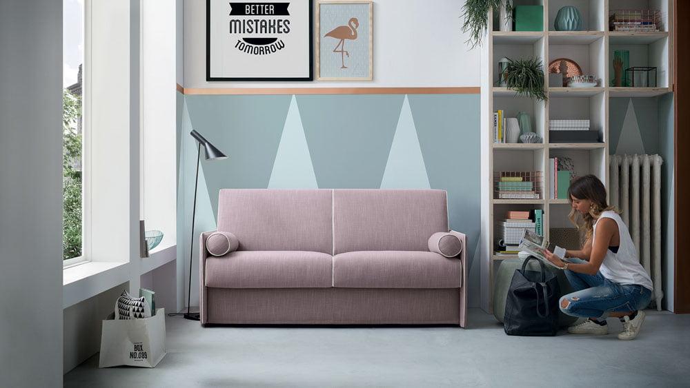 Itališki minkšti baldai Sofa lova Blair 15