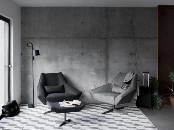 Italiski minksti baldai fotelis Olivia (2)