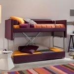 Italiski minksti baldai sofa lova Hans 1