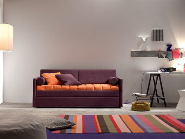 Italiski minksti baldai sofa lova Hans