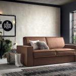 Italiski minksti baldai sofa lova Kurt (1)