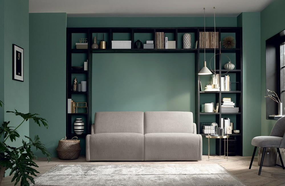 Italiski minksti baldai sofa lova Zack