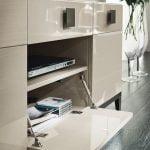 Italiski svetaines baldai Mont Blanc tv spintele (2)
