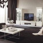 Italiski svetaines baldai TV staliukas Canova (2)