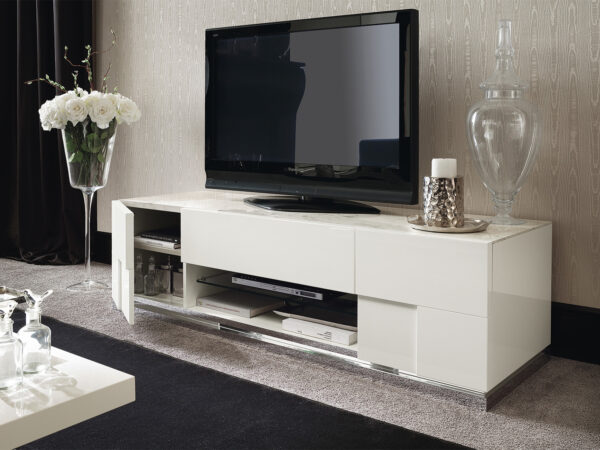 Italiski svetaines baldai TV staliukas Canova (5)
