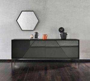 Italiski svetaines baldai komoda Kendo (3)