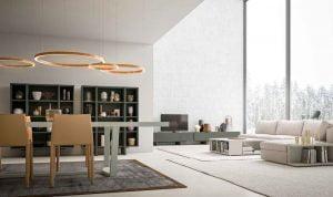 Italiski svetaines baldai recta vitrina indauja (2)