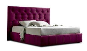 Miegamojo baldai lova Hamilton