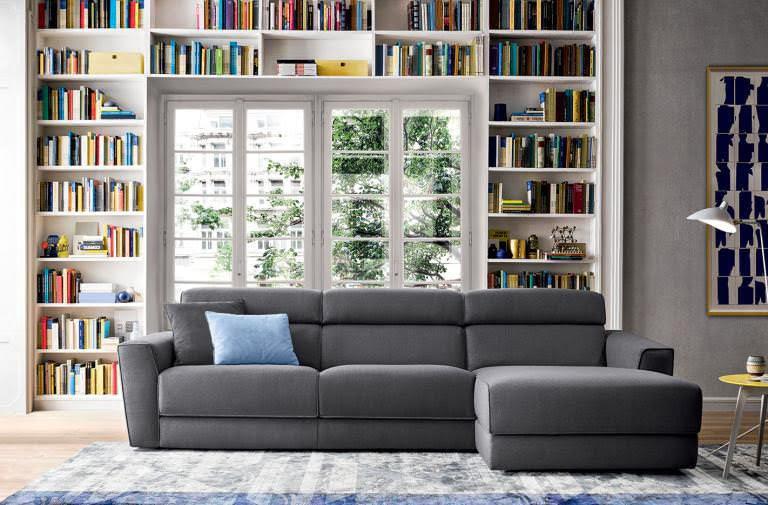 Minksti baldai kampine sofa Winston