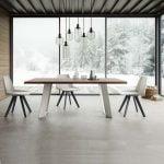 Natisa italiski valgomojo baldai stalas BRIDGE FAN (10)