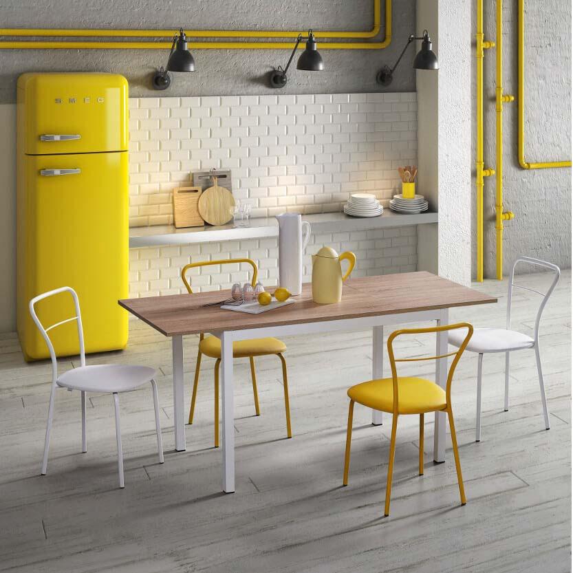 Natisa italiski valgomojo baldai stalas LINEA (3)