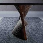 Natisa italiski valgomojo baldai stalas ORBIT 2