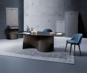 Natisa italiski valgomojo baldai stalas ORBIT4