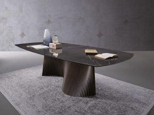 Natisa italiski valgomojo baldai stalas ORBIT (5)