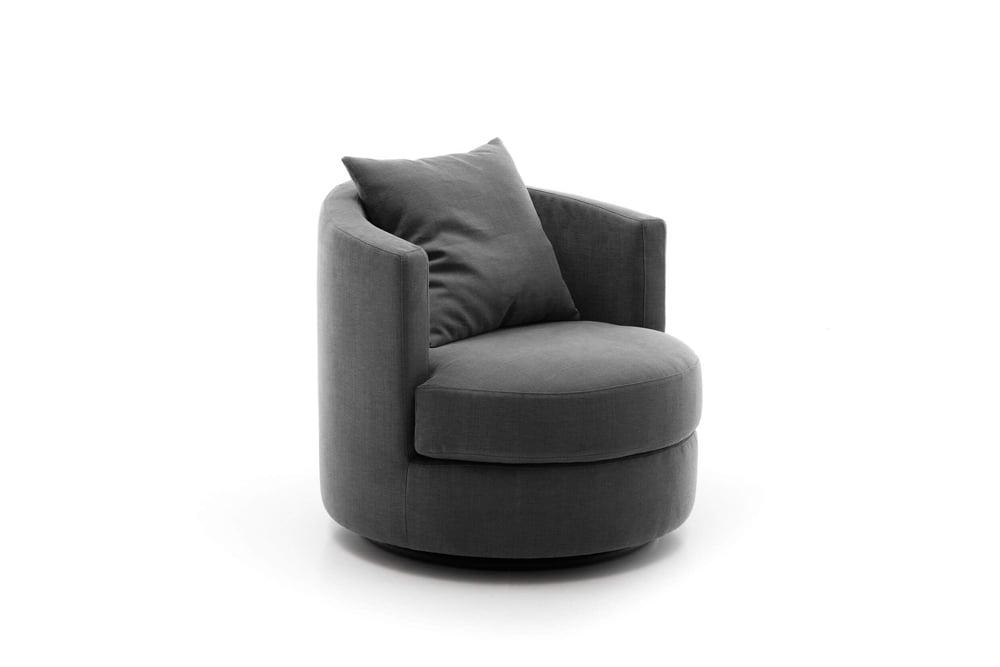 Olta minksti baldai fotelis Oval