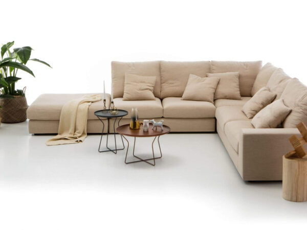 Olta minksti baldai kampine sofa Duo